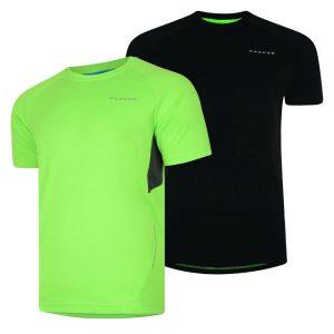 Dare2b T Shirt Summer Running Gym Frequency Tee Quick Dry Bike Graphic Print